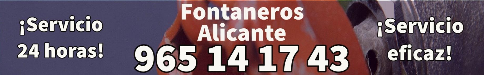 Fontaneros Alicante